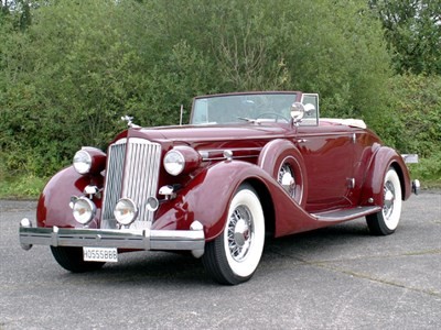 Lot 45 - 1936 Packard Twelve Convertible Coupe