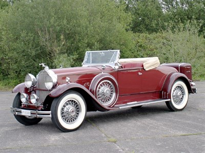 Lot 46 - 1930 Packard 740 Custom Eight Roadster