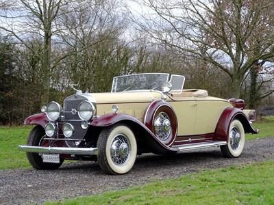 Lot 71-1931 Cadillac 370-A V12 Roadster
