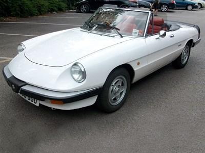 Lot 93-1989 Alfa Romeo Spider 2.0