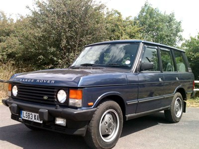 Lot 95-1994 Range Rover Classic