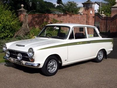 Lot 96-1965 Ford Lotus Cortina