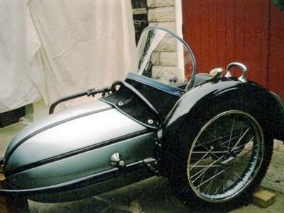 Lot 1-1938 Steib S500 Sidecar