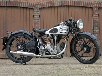 Lot 9 - 1936 Norton CS1