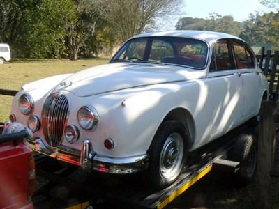 Lot 3-1964 Jaguar MK II 3.8 Litre