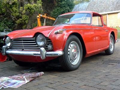 Lot 1-1965 Triumph TR4A