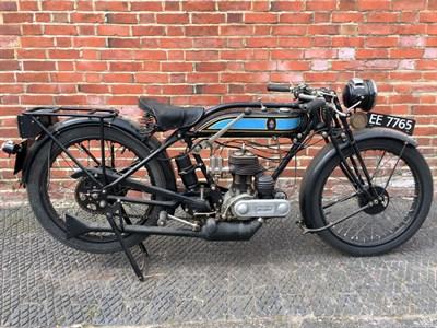 Lot 129-1928 Triumph Model NP