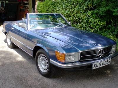 Lot 3 - 1977 Mercedes-Benz 450 SL
