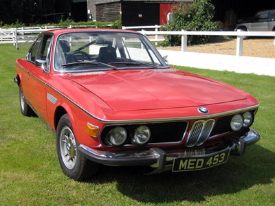 Lot 55 - 1971 BMW 2800 CS
