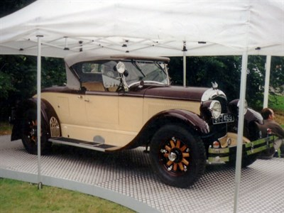 Lot 71 - 1926 Chrysler Series 70 Roadster