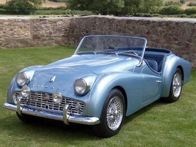 Lot 48-1957 Triumph TR3A