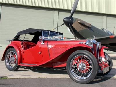 Lot 19-1939 MG TA