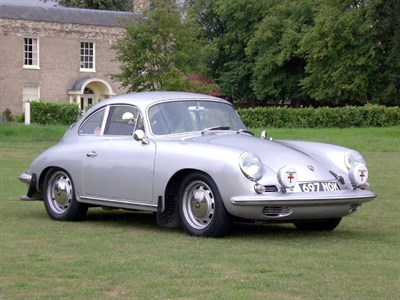 Lot 68 - 1964 Porsche 356C Rally Car