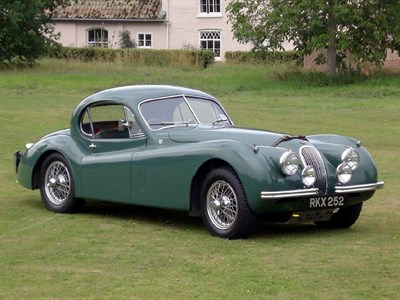 Lot 70 - 1953 Jaguar XK120 SE Fixed Head Coupe