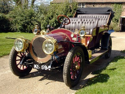 Lot 54 - 1911 Delaunay Belleville Model HB4 Tourer
