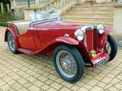 Lot 43 - 1948 MG TC
