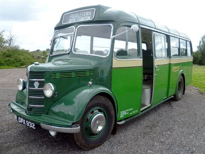 Lot 20 - 1949 Bedford OB Coach