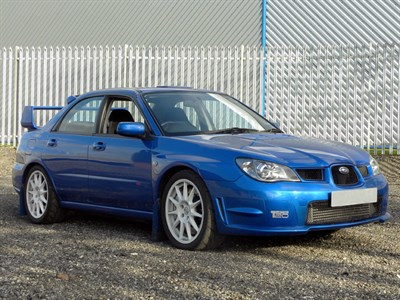 Lot 7 - 2005 Subaru Impreza Spec C Group N Car