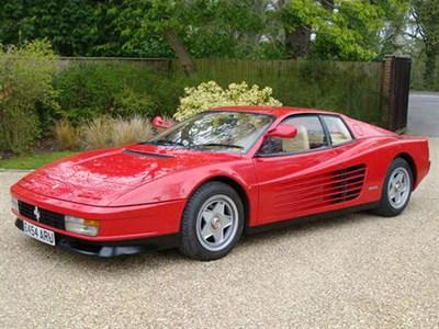 Lot 81-1986 Ferrari Testarossa