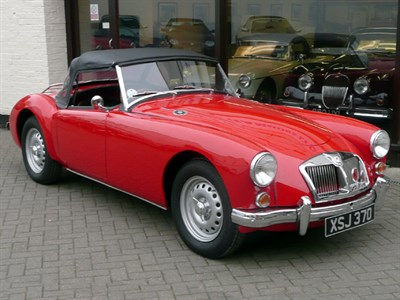 Lot 63 - 1962 MG A 1600 MKII Roadster De Luxe