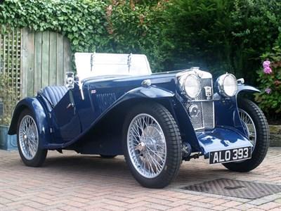 Lot 28 - 1933 MG J2