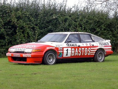 Lot 59 - 1983 Rover Vitesse TWR Touring Car