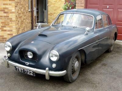 Lot 38 - 1956 Bristol 405