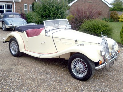 Lot 44 - 1954 MG TF 1250