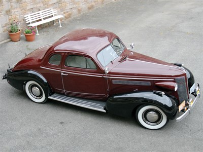 Lot 56 - 1937 Buick Series 46 Business Coupe