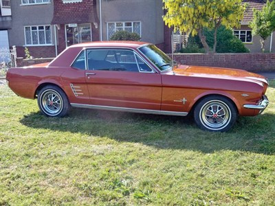 Lot 60-1966 Ford Mustang
