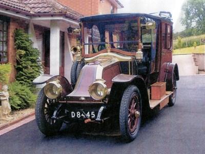 Lot 58-1912 Renault Type CE Limousine