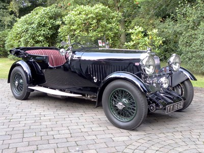 Lot 76 - 1932 Lagonda 2 Litre Low Chassis Continental