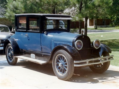 Lot 10-1919 Cadillac Type 57 Victoria Coupe
