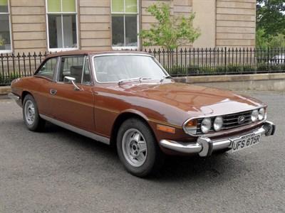 Lot 35 - 1977 Triumph Stag