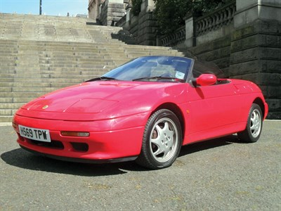 Lot 33-1991 Lotus Elan SE Turbo