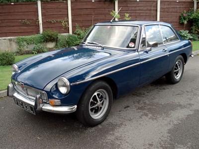 Lot 5 - 1972 MG B GT