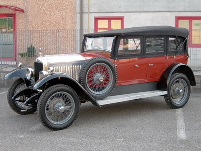 Lot 23 - 1925 Vauxhall 14/40 Princeton Tourer