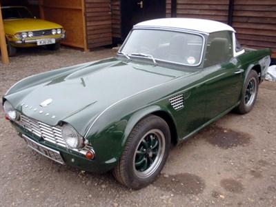 Lot 78-1964 Triumph TR4
