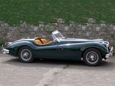 Lot 73-2005 Nostalgia XK140 Evocation