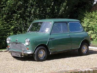 Lot 39-1963 Austin Mini