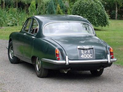 Lot 35 - 1965 Jaguar S-Type 3.4 Litre