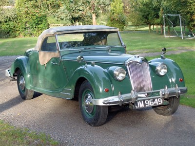 Lot 6 - 1950 Riley RMC 2.5 Litre