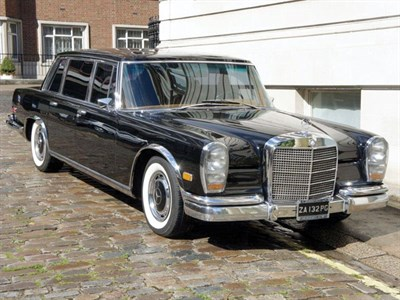 Lot 11 - 1972 Mercedes-Benz 600 Saloon