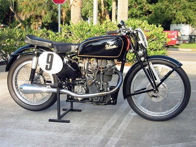 Lot 28-1949 Velocette KTT MK8