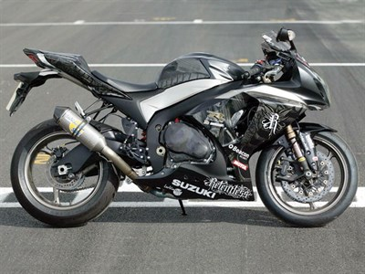 Lot 8 - 2010 Suzuki GSX-R1000 TAS Relentless Superbike