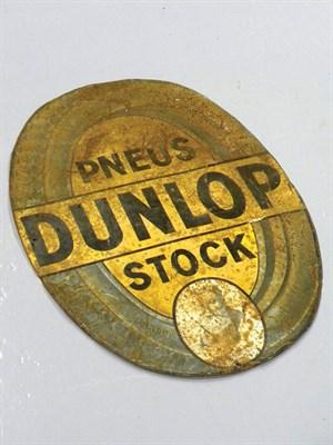 Lot 38-c.1898 'Neus Dunlop' Stock Advertising Sign