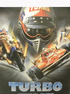 Lot 18-'Turbo Time' Movie Poster