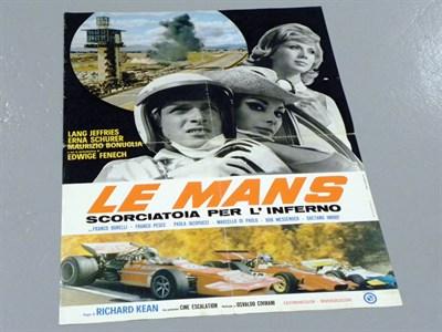Lot 20-'Le Mans' Original Film Poster