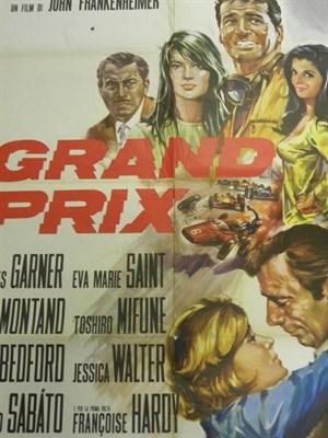 Lot 21-'Grand Prix' Original Film Poster