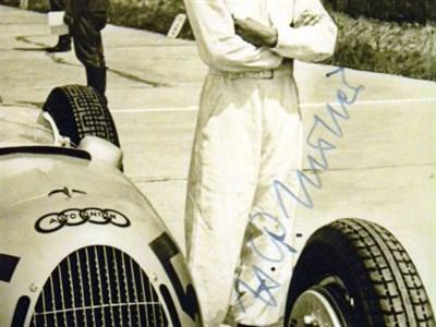 Lot 12-Hermann P. Muller Signed Postcard